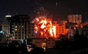 L'armée israélienne a lourdement répliqué aux tirs de roquettes venus de la bande de Gaza.