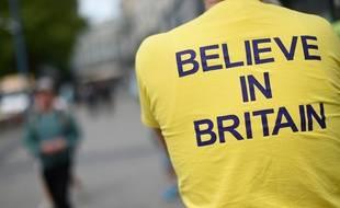 La campagne pour le Brexit. Illustration