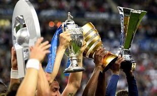 Les trophées du foot français
