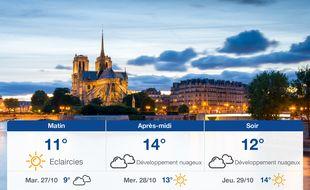 Météo Paris: Prévisions du lundi 26 octobre 2020
