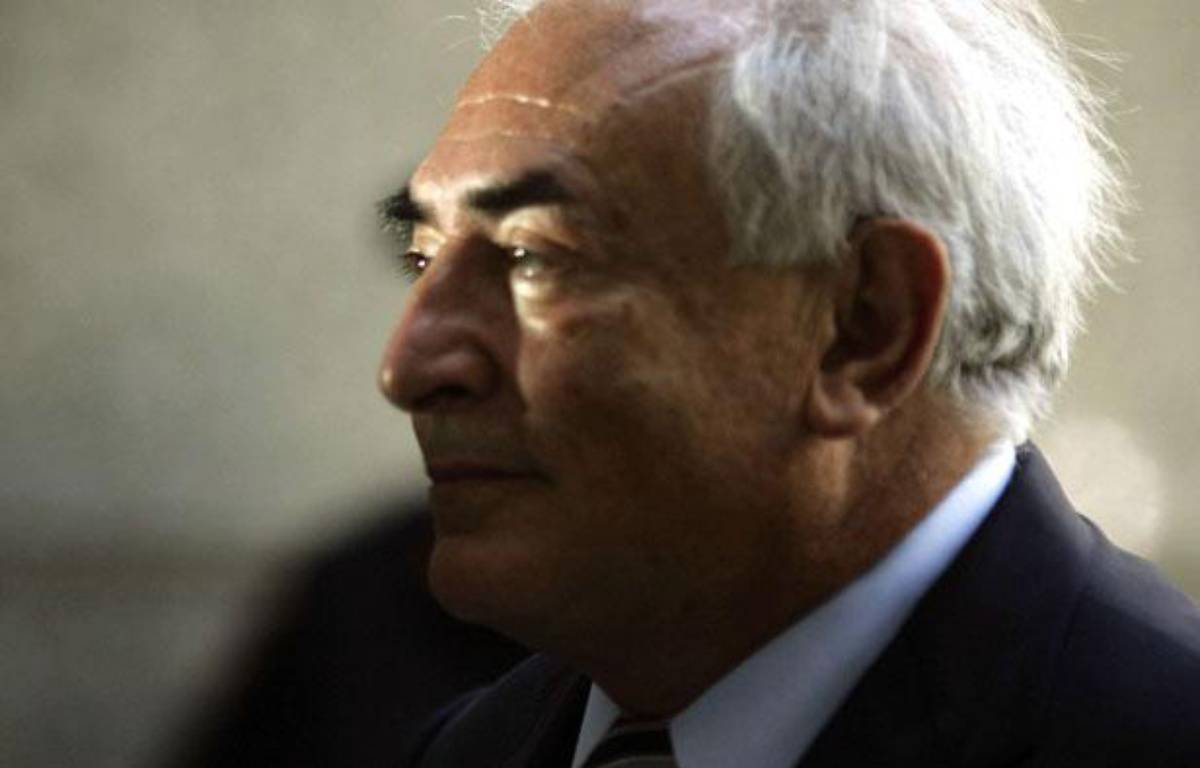 Dominique Strauss-Kahn à sa sortie du tribunal de New York le 23 août 2011 – MANTEL/SIPA