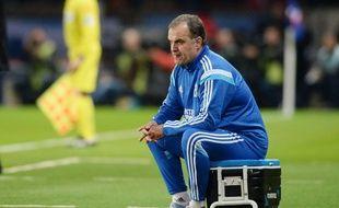 L'entraîneur marseillais, Marcelo Bielsa.
