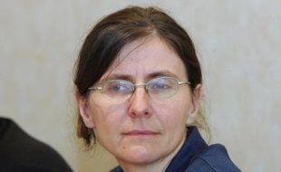 Agnès Benassy-Quéré, alors professeur d'économie à l'Ecole Polytechnique, le 11 octobre 2006, à Paris