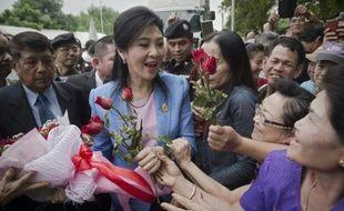 Yingluck Shinawatra, ex-Première ministre de Thaïlande, à Bangkok, le 17 février 2016