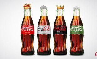 Coca Cola félicite le couple royal pour son bébé.