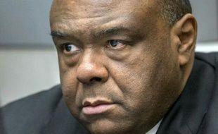 L'ancien vice-président congolais Jean-Pierre Bemba à la Cour pénale internationale à la Haye, le 21 mars 2016