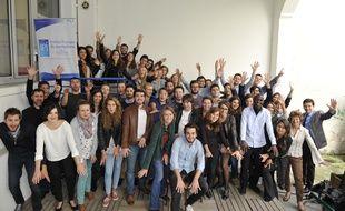 Les élèves de l'IPJ Paris Dauphine, juin 2016