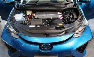 Mirai, l'une des rares voitures à hydrogène, est fabriquée par Toyota.