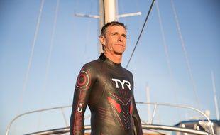 Benoît Lecomte, 49 ans, se prépare depuis six ans pour son nouveau défi.