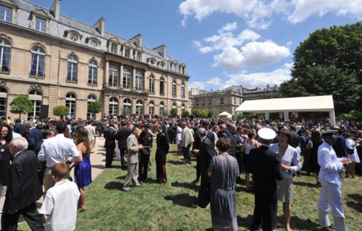 La garden party de l'Elysée du 14 juillet 2009. – M.MEDINA/AFP