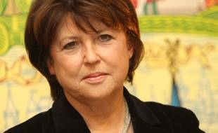 Martine Aubry, maire de Lille
