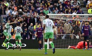Le Betis s'impose au Camp Nou