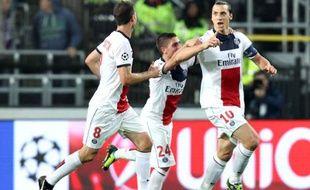 Zlatan Ibrahimovic a été monstrueux contre Anderlecht, le 23 octobre 2013