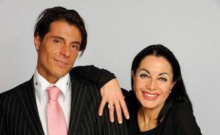 Marie-France et son fils Giuseppe, candidat de l'émission diffusée sur TF1, «Qui veut épouser mon fils?».