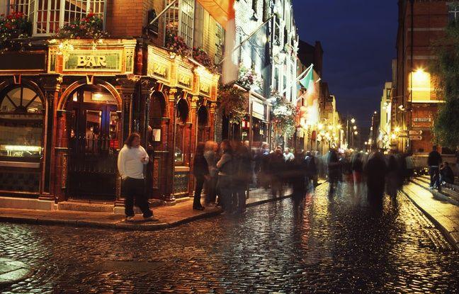 Le Temple Bar est le lieu de rendez-vous privilégié de la jeunesse irlandaise et des touristes assoiffés !