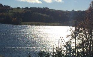 Aydat (Puy de Dôme), le 19 novembre 2016. Cécile Bourgeon et Berkane Makhlouf auraient enterré Fiona aux abords de ce lac.