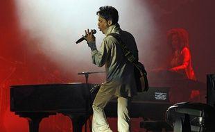 Le chanteur Prince lors du HOP FARM FESTIVAL 2011 dans le Kent