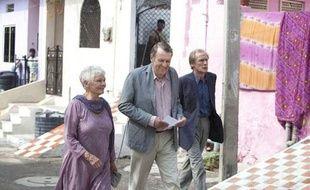 Les acteurs d'Indian Palace de gauche à droite: Judi Dench, Tom Wilkinson et Bill Nighy.