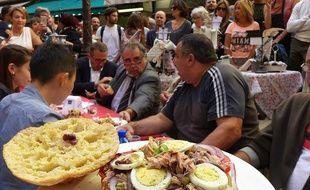 Ce pan bagnat participe aux premiers championnats du monde organisés à Nice.
