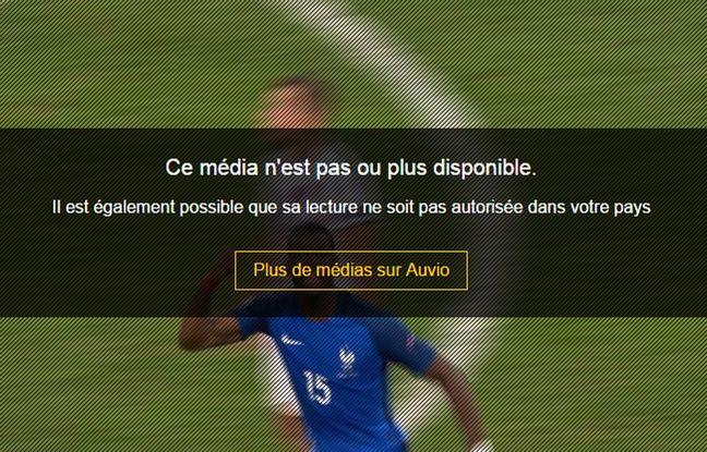 La vidéo mise en ligne par la RTBF n'est plus lisible depuis la France.
