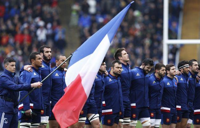 Le XV de France lors du dernier Italie-France du Tournoi des VI Nations, le 15 mars 2015.