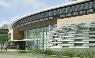 Recouvert de panneaux photovoltaïques, le bâtiment produira sa propre électricité.