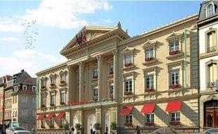 La future résidence hôtelière, ici en projection, comprendra 105chambres.