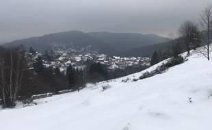 Dans le massif des Vosges, en Alsace (illustration).