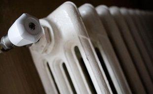 Chauffage à gaz en fonte. Illustration gaz, chauffage.