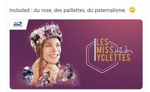 La campagne de communication de la Fédération française de cyclisme fait la part belle aux clichés sexistes.