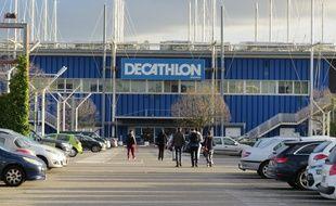 Le magasin Decathlon de Saint-Herblain-Atlantis, près de Nantes.