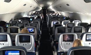 Un vol entre Minneapolis et Baltimore au temps du coronavirus.