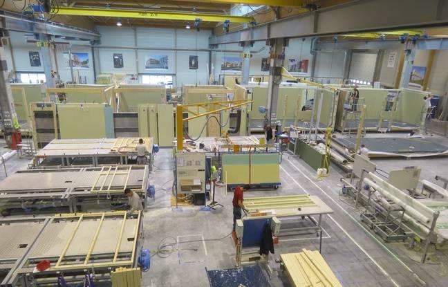 La chaîne de production du projet Aurore dans l'entreprise BH.