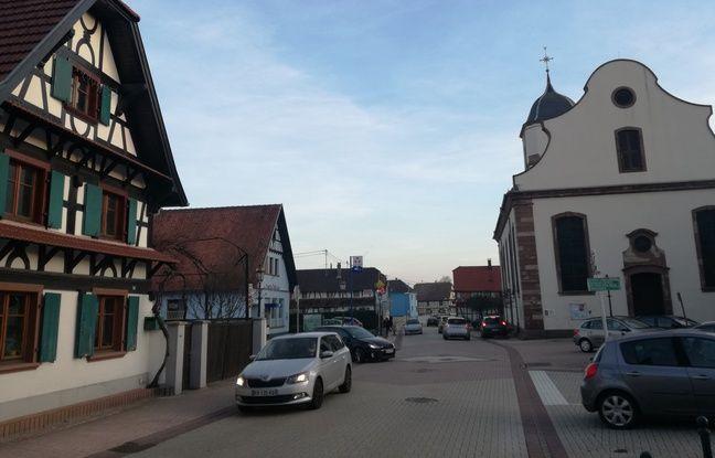 Une rue principale avec quelques commerces, deux églises, de belles colombages et des paniers dans le nombreux jardins, voici Gries, un petit fief du basket en Alsace.