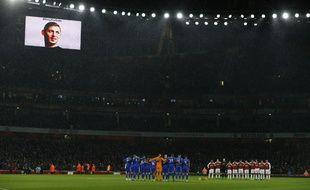 Avant le match, il y a eu une minute d'applaudissements en hommage à Sala.