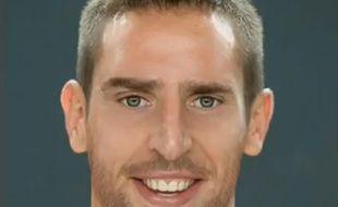 Un photographe s'est amusé à modifier les traits de Franck Ribéry.