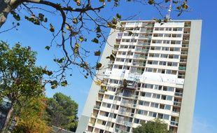 La tour d'Alembert à Montpellier va être détruite