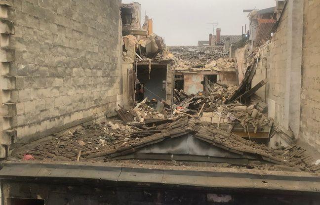 L'explosion survenue dans le quartier des Chartrons a soufflé le premier étage de l'immeuble