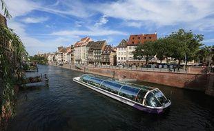 La compétition partira du quai des Bateliers jusqu'aux institutions européennes à Strasbourg. Illustration