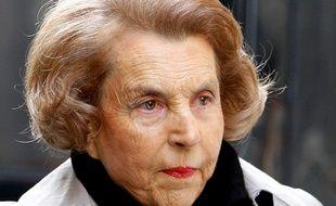 Liliane Bettencourt, photographiée le 6 juillet 2007. La milliardaire est décédée le 21 septembre 2017.