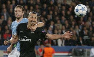 Ibrahimovic n'a pas brillé pour son retour en C1.