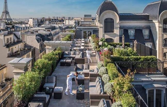 Rooftop de l'Hôtel peninsula