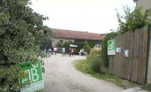 La ferme de poules pondeuses de Marc Chauvin en Seine et Marne.