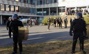 Les gendarmes sont intervenus le 9 octobre 2018 pour éviter le blocage de l'université Rennes 2.