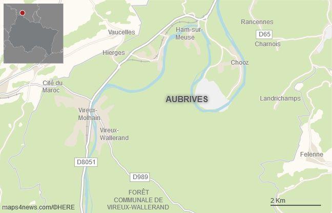 La commune d'Aubrives, dans les Ardennes.