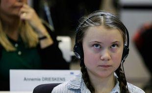 Greta Thunberg, le 21 février 2019 à Bruxelles.