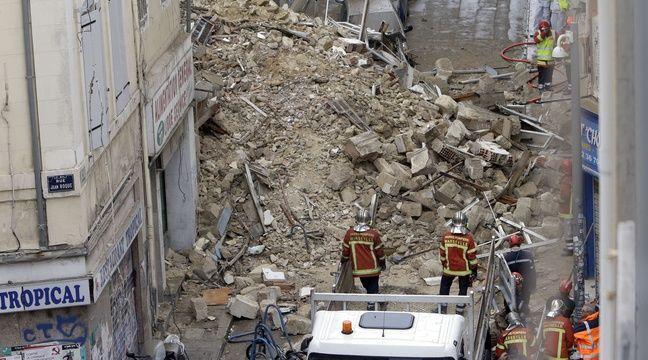 immeubles effondr s marseille huit personnes sont susceptibles d 39 avoir disparu annonce. Black Bedroom Furniture Sets. Home Design Ideas