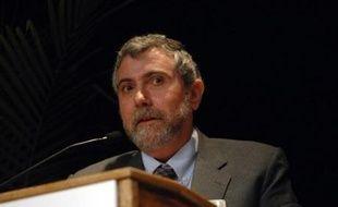 L'Américain Paul Krugman, économiste de la mondialisation et éditorialiste réputé pour ses charges contre l'Administration Bush, a reçu lundi le prix Nobel d'économie pour ses travaux sur le commerce international.