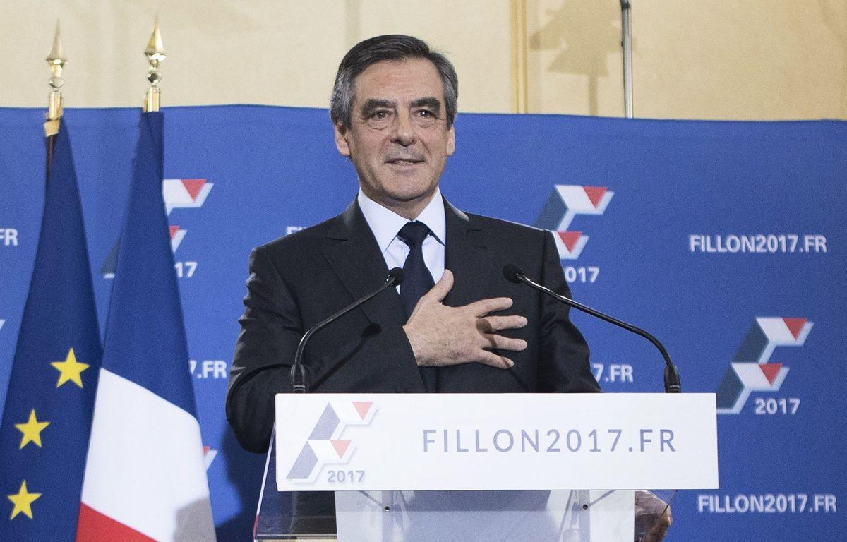 Francois Fillon a remporté dimanche dernier la primaire de la droit et du centre et il décline ses propositions pour gagner l'élection présidentielle. – SIPA