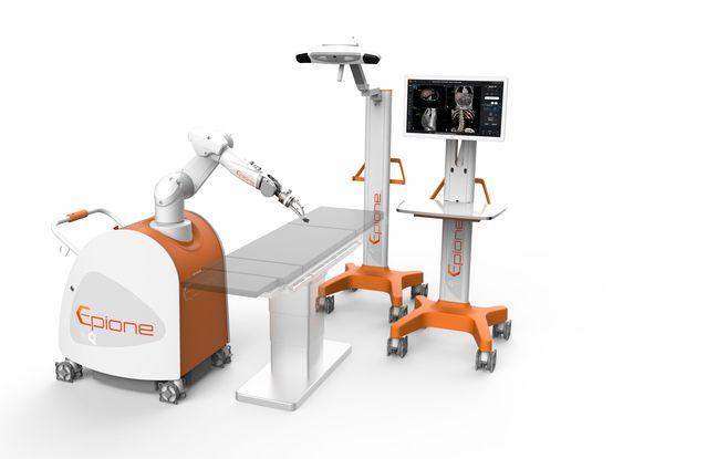 Le robot de Quantum Surgical